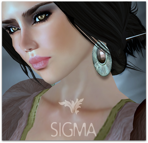 SIGMA Jewels/ Saturn earrings