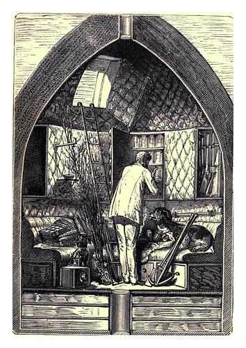 013-El interior del proyectil-De la Tierra a la Luna-De la terre à la lune-ilustraciones de Henri de Montaut