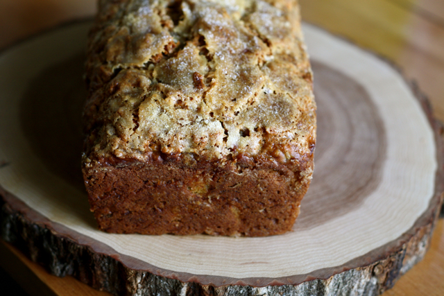 Pineapple Coconut Vegan Banana Bread