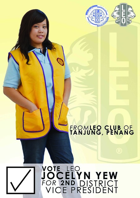 Vote Leo Jocelyn Yew for 2nd District Vice President for the fiscal year 2011-2012