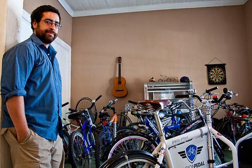 Café la bicicleta: Beto