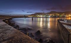 Benalmádena (svg74) Tags: night nocturna noche seaport andalucía andalusia longexposure largaexposición mar málaga benalmádena puertomarina puerto lights españa spain sea seascape landscape