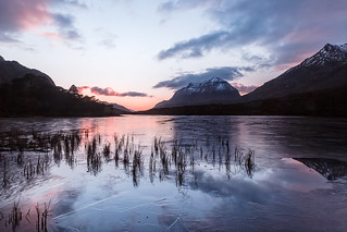 Last Light at Liathach