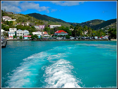 Stunning Blue Waters Of The British Virgin Islands - IMRAN  ~2100+ Views! (ImranAnwar) Tags: ocean travel blue vacation sky inspiration beach nature water ferry clouds outdoors landscapes dock nikon marine wake turquoise teal aquamarine peaceful tranquility hills boating 2008 imran lifestyles twop iceblue otw imrananwar kartpostal photographyrocks windsandandwater skyascanvas