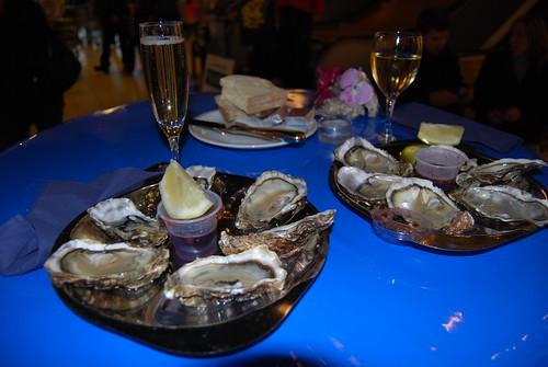 oesters na de boodschappen