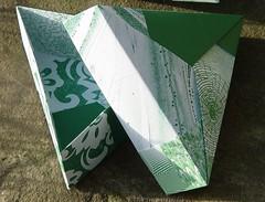 Dreieckschachtel von Tomoko Fuse (Tagfalter) Tags: origami box tomokofuse
