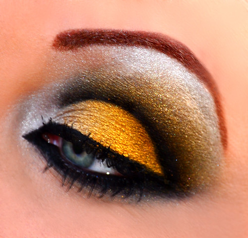 New Orleans Saints inspired eyes 3