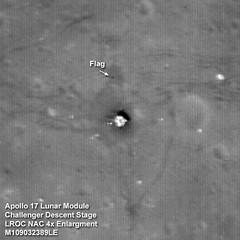 Apolo XVII por LRO alta