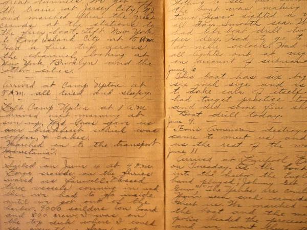 Harrys Army Diary 1918-1919