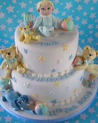 Little Star (nice icing) Tags: baby elephant cakes star teddy sugar icing toppers babycake