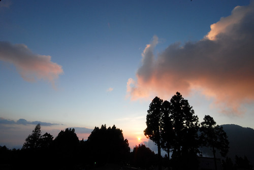 阿里山日落 - Alishan Sunset