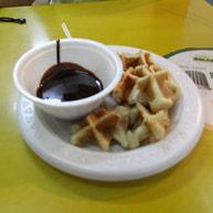 waffle-fondue