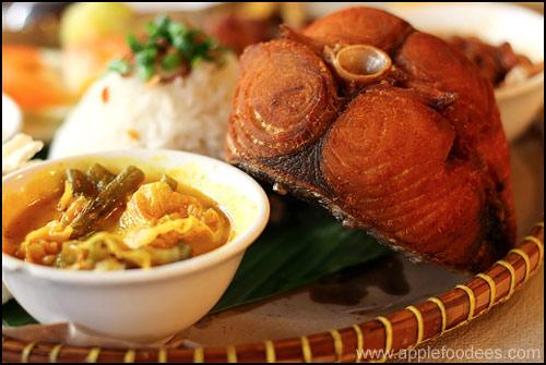 Nyonya Food-Tenggiri Fish