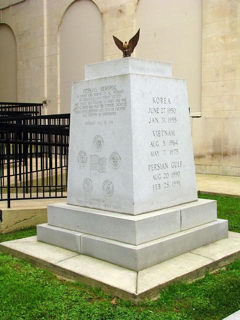 Greene County, TN Veterans Memorial