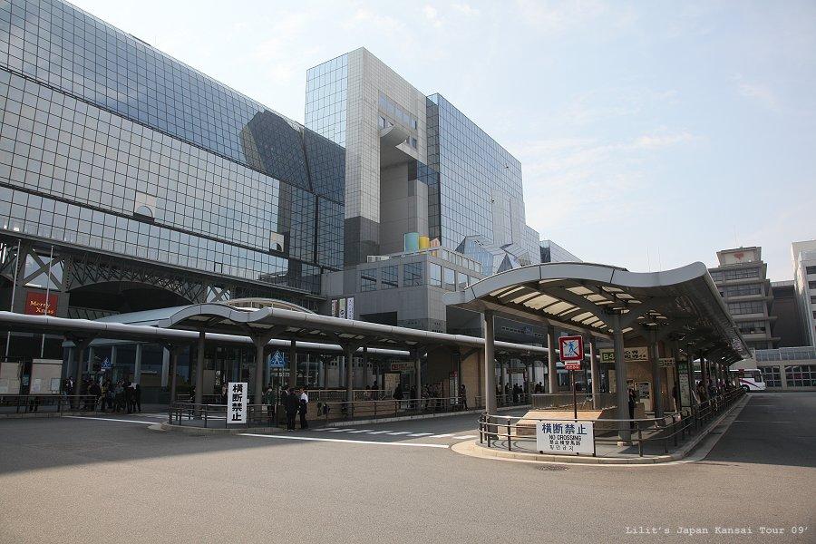 京都車站等公車