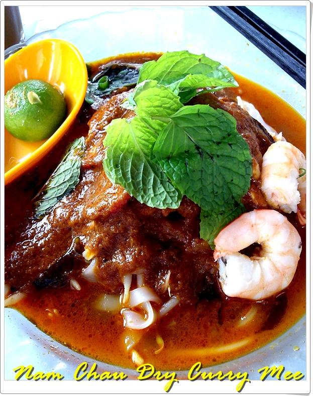 Nam Chau Dry Curry Mee