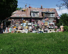 House With a Message, Heidelberg Project, Detroit