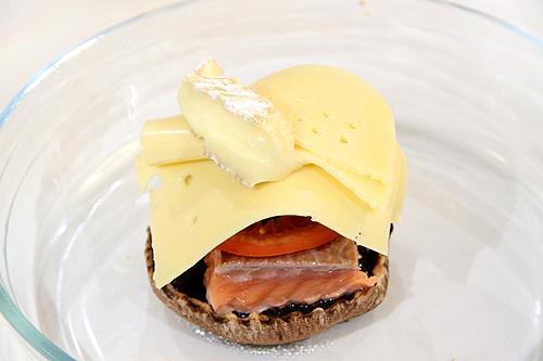 鮭魚波特菇堡-091124