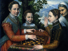 Playing Chess, Sofonisba Anguissola, Poznan, Muzeum Narodowe (renzodionigi) Tags: portrait sculpture painting design ritratto art italian fine italiana arte