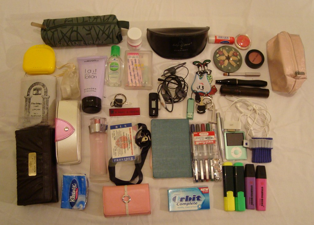 What's in my bag..