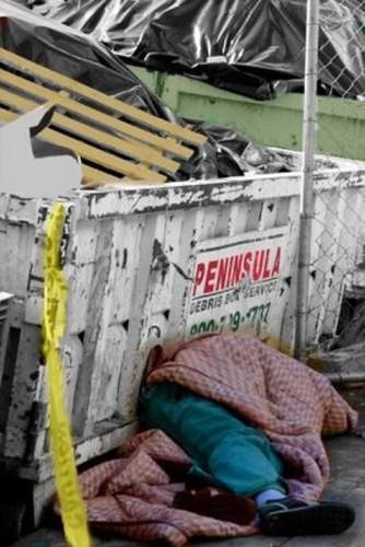 Peninsula Debris