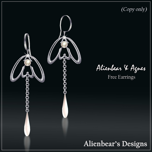 2009 AlienbearAgnes free earrings