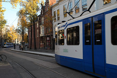 Tramway Amsterdam (sebastien banuls) Tags: voyage city travel autumn winter holland rooftop netherlands amsterdam bicycle photography canal europe cityscape photographie nemo centre capital nederland thenetherlands bridges railway tunnel lloyd prinsengracht  bibliotheek kerk compagnie maritimemuseum hoc jordaan overview sloterdijk gracht oosterdokseiland korte oosterdokskade westerkerk openbare ijtunnel stadsarchief  rijp langejan vocship hoofdstad amstersam khl scheepsvaartmuseum oostindische nemosciencecenter publiclibraryamsterdam nederlandvandaag hartjeamsterdam amsterdamchannel deouwewester vereenigde