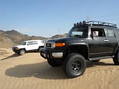 black&white (shine_on) Tags: desert mud offroad 4x4 dunes toyota jeddah suv fj landcruiser saudiarabia cruiser rains  fjcruiser    bahra    feshfesh