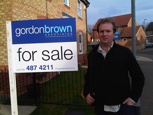 Neil Bradbury Gordon Brown for sale Oct 09