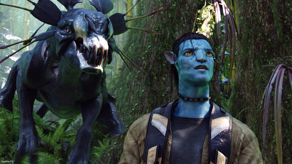 Avatar monstruo na'vi