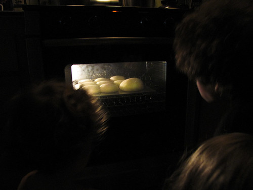 Watching bread bake
