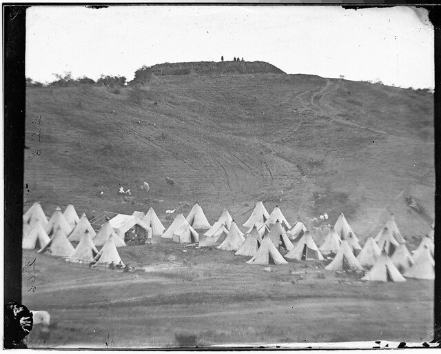 Camp and fort by The US National Archives