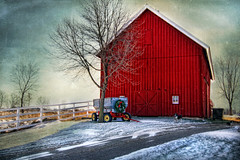 Home For The Holidays (karenhunnicutt) Tags: christmas winter snow minnesota rural forsale farm country barns farms ruralscapes homefortheholidays ruralminnesota imagekind karenmeyere karenhunnicutt karenmeyer karenhunnicuttphotographycom magicunicornverybest magicunicornmasterpiece
