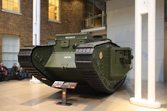 Imperial War Museum: London, England (barberdavidm) Tags: greatbritain england london tank unitedkingdom worldwari southwark markv imperialwarmuseum britishtank
