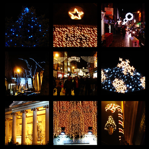 Pieces of the Dublin Christmas Lights