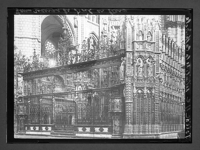 Catedral de Toledo hacia 1910. Fotografía de Charles Chusseau-Flaviens. Copyright © George Eastman House, Rochester, NY