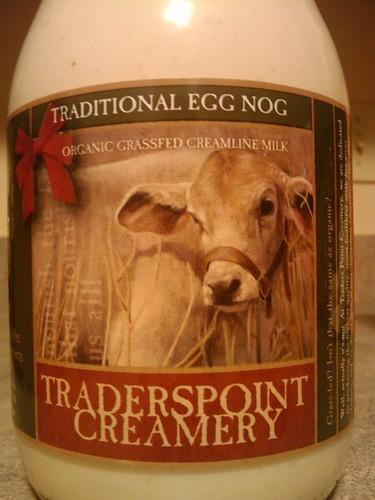 Eggnog review: Traderspoint Creamery Traditional Eggnog