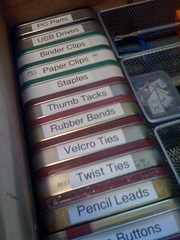 Organizing with Altoids Tins by matthew_moss, on Flickr