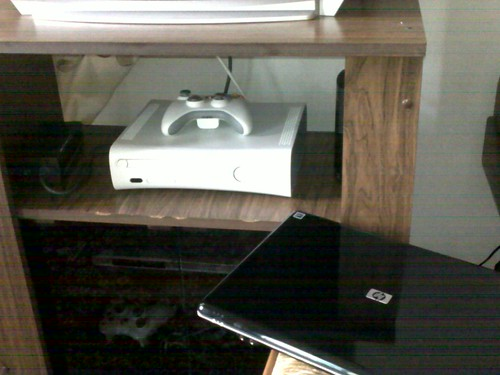 My xbox and laptop