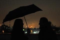 Fireworks (Joachim S. Mller) Tags: umbrella germany deutschland hessen firework darmstadt feuerwerk regenschirm schirm nikonafs1755mmf28dx