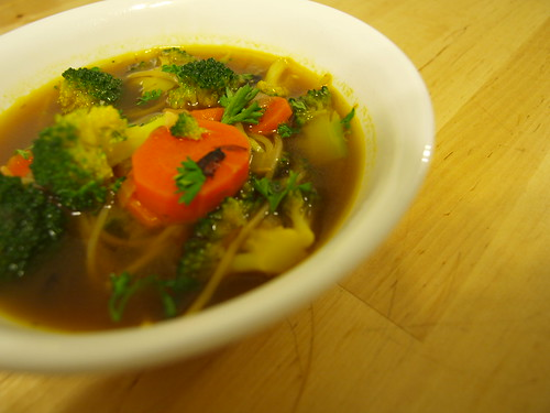 Broccoli Noodle Soup