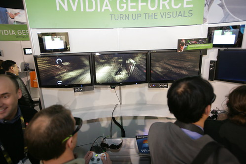 NVIDIA 3D Vision Surround - CES 2010