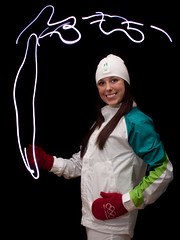 With Glowing Hearts (Alison Faith) Tags: selfportrait vancouver uniform torch 365 olympics dailyphoto exciting 2010 winterolympics vancouver2010 torchbearer project365