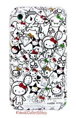 td x hk 35th anniv iPhone case (iheartkitty) Tags: white black cute anniversary hellokitty case sanrio 3g kawaii limited edition 35th iphone tokidoki