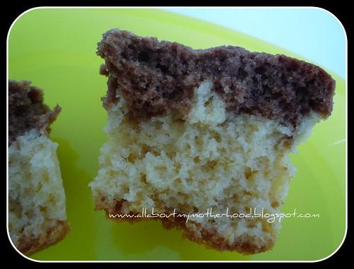 Milo Marble Cupcakes
