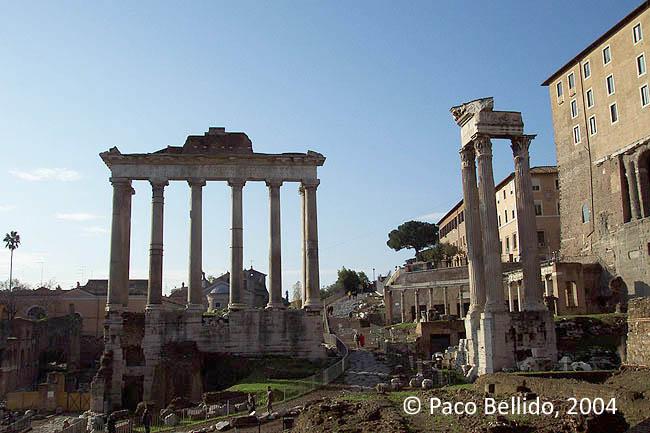 Foro romano. © Paco Bellido, 2004