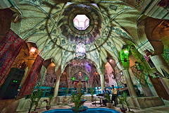 Iran, Kerman, Vakil Bath (Now, Traditional Tea House) (Ali Majdfar) Tags:      iranmap iranmapcom  gettyimagesmiddleeast