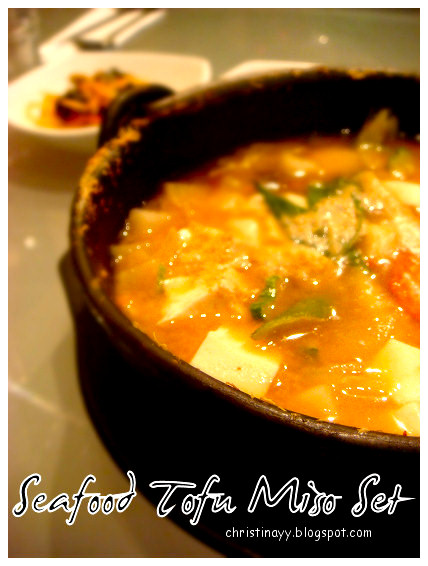 Gold Coast's Surfers Paradise: Korean Seafood Tofu Miso Rice Set