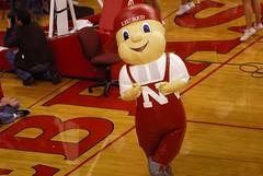 LIL' RED Nebraska Husker mascot
