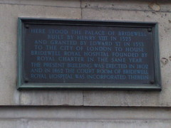 Photo of Henry VIII bronze plaque